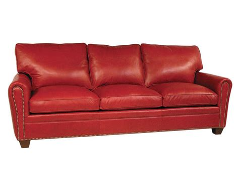american made leather sofa classic leather bowden sofa sleeper 11328 slp sofa sleeper