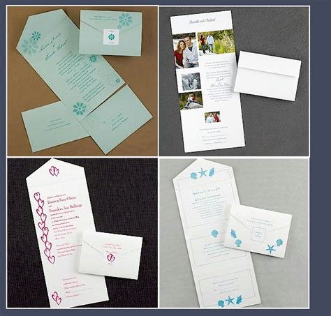wedding invitations with detachable rsvp cards budget friendly wedding invite