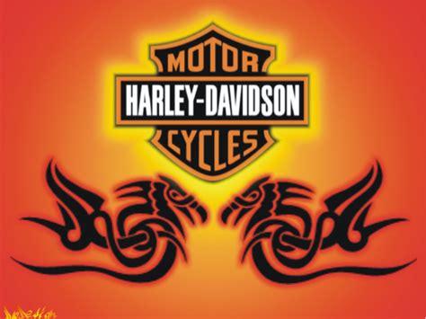 Bordiran Logo Tulisan Harley Davidson harley davidson logo hd wallpaper