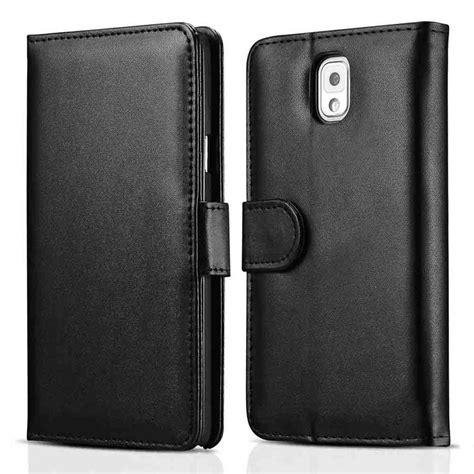 Samsung Note 3 Flip Wallet Leather Casing Cover Dompet Kulit Kuat note 3 wallet style flip pu leather for samsung