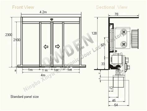Floor Plan Of A Bank by Automatic Sliding Door Closing Mechanism Buy Automatic