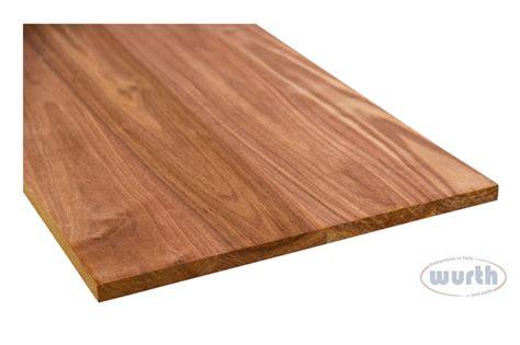 brett nussbaum massiv wurth holz massivholzplatten