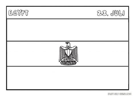 coloring page egypt flag printable flag of egypt coloring pages printable