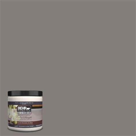 behr premium plus ultra 8 oz ul260 3 suede gray interior exterior paint sle ul260 3 the