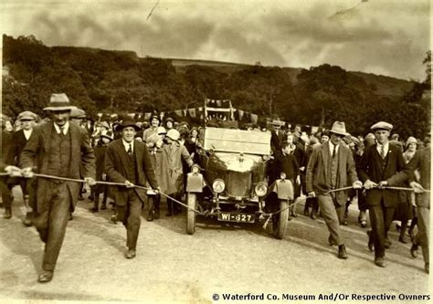 Wedding Car Waterford by Photo Archive Waterford County Museum