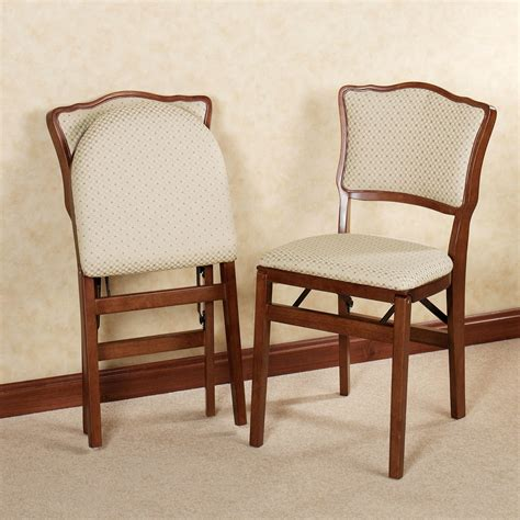 chair upholstery dover upholstered folding chair pair