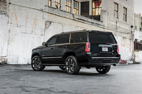gmc yukon gmc yukon denali black edition is the