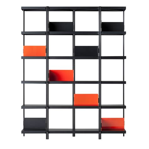 bookcases and shelving units bookcase zigzag by driade