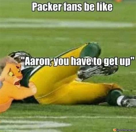 Aaron Rodgers Memes - aaron rodgers injury meme