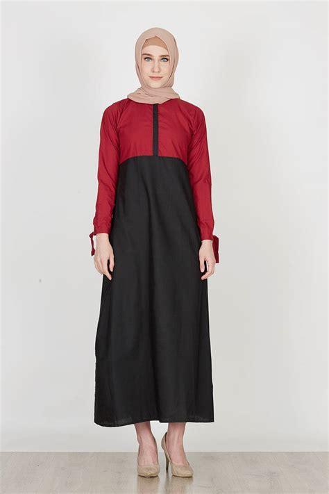 Jilbab Square Lace Katun Erow sell kaynay dress two tone tali katun maroon black