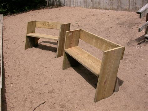 scrap wood bench easy beach or garden bench out of scrap wood all