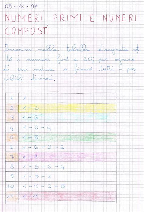 tavola numeri primi numeri primi e numeri composti