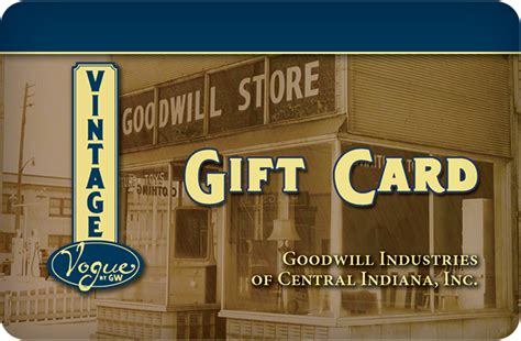 Goodwill Gift Card - gift cards goodwill central southern indiana