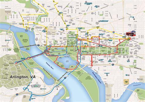 washington dc on a map maps update 700495 washington dc tourist map printable