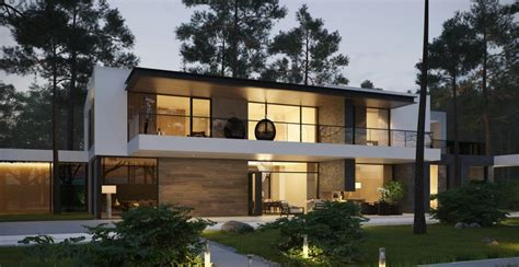 modern two story house modern home exteriors with stunning outdoor spaces