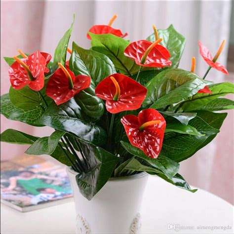 fake flowers home decor best new artificial flowers for wedding table decorations
