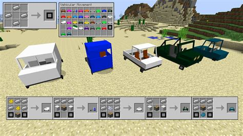 minecraft truck vehicular movement minecraft mods