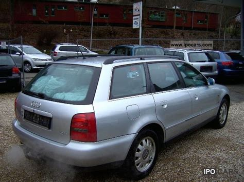 Audi A4 Avant 1997 by 1997 Audi A4 Avant 2 8 Automatic Air Conditioning Leather