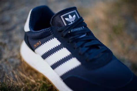 Sepatu Adidas Boost 2 Navy White Gum Premium Quality adidas iniki runner boost navy gum sneakerfiles