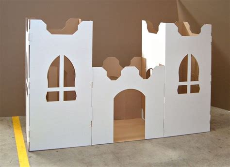 How To Make A Castle Out Of Cardboard And Paper - a castle out of cardboard lifesize cardboard
