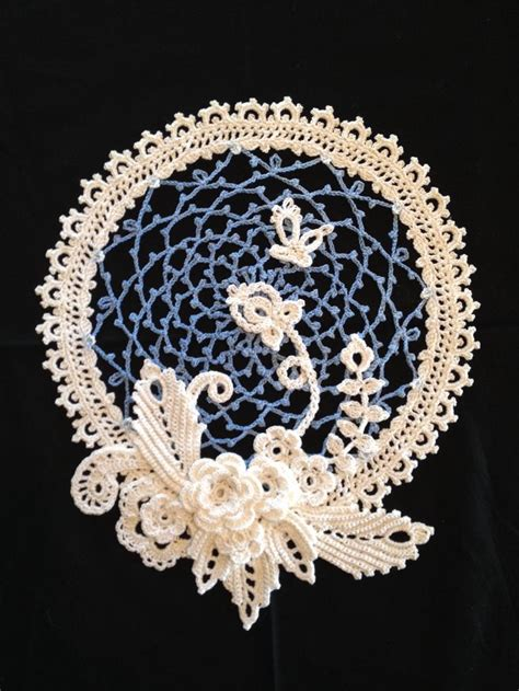 free patterns irish crochet irish crochet sler doily crochet slers pinterest