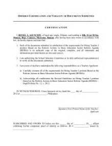 letter of application sample application letter for deped