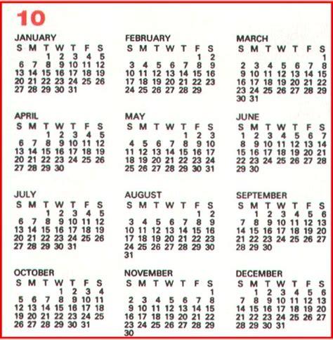 10 year calendar calendar template 2016
