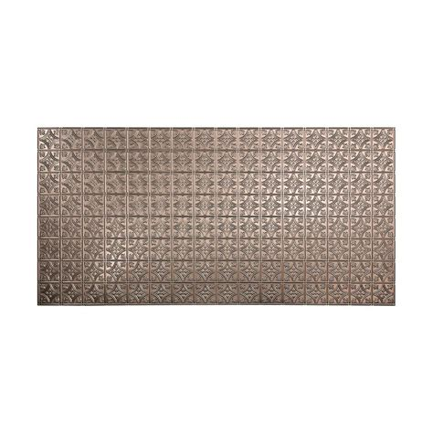 Decorative Wall Panels Home Depot Fasade 96 In X 48 In Traditional 1 Decorative Wall Panel In Brushed Nickel S50 29 The Home Depot