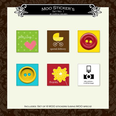 Moo Mini Card Template by New Moo Mini Card Templates Stickers Winner S