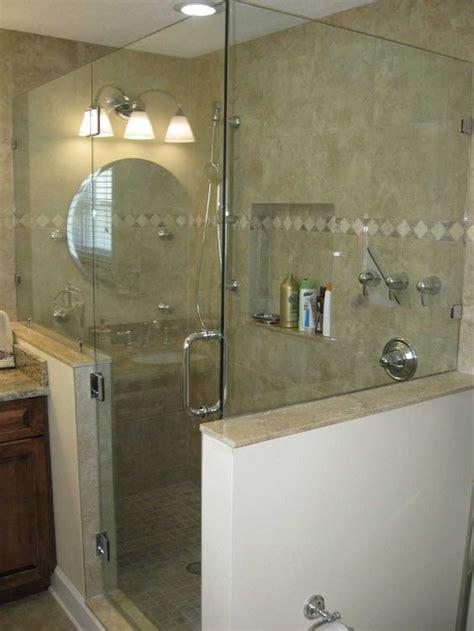 Shower Doors And Walls Glass Shower Doors Frameless Frameless Shower Door