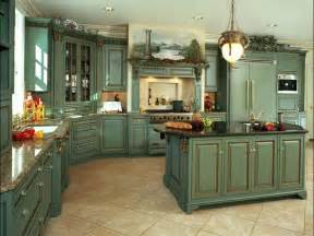 Country Green Kitchen Cabinets by 1000 Ideas About Country Kitchen Cabinets On Pinterest
