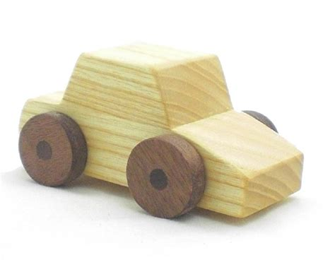 wooden truck toy happy bungalow wooden toy car