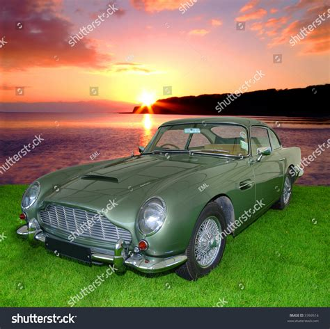 vintage aston martin white db5 vintage aston martin from the 1900 s isolated on white