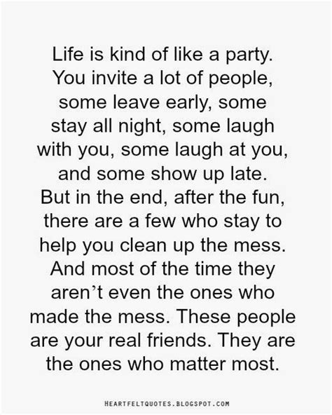 biography exle of a friend life is kind of like a party you invite a lot of