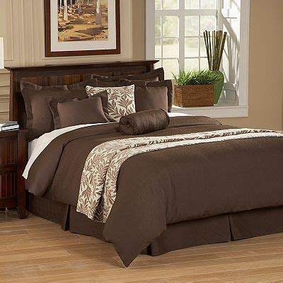 kohls king size bedding feels like too much brown for the home pinterest