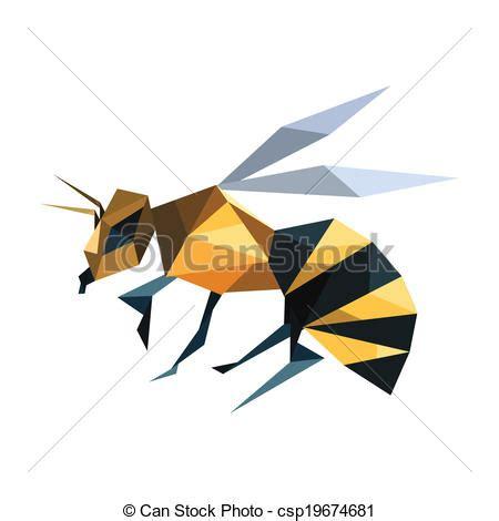 Origami Cv - origami r 233 sum 233 voler illustration abeille vecteur