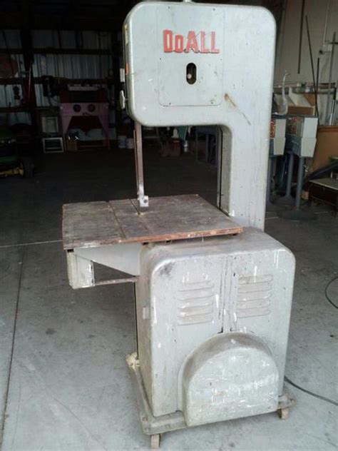 photo index doall   doall metal bandsaw