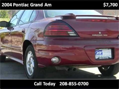 car manuals free online 2004 pontiac grand am user handbook 2004 pontiac grand am esp repair 2004 pontiac grand am problems online manuals and repair