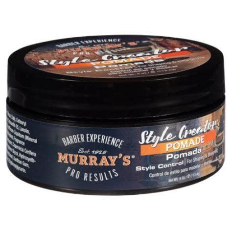 Pomade Murray S Black style creator pomade