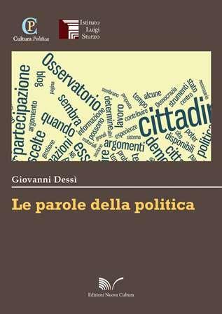 libreria nuova cultura le parole della politica edizioni nuova cultura