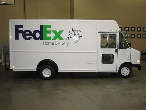 fedex home delivery truck search results dunia photo