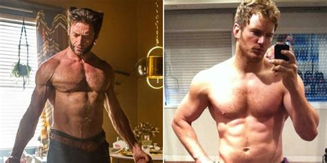 big ripped actors how the fittest hollywood actors get fit askmen