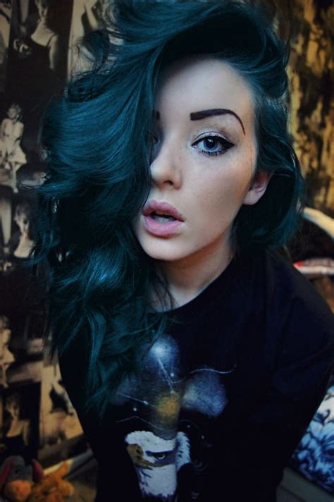 black midnight blue hair pinterest the world s catalog of ideas