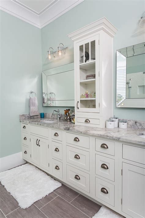 bathroom vanities austin luxury south carolina home features inset shaker cabinets