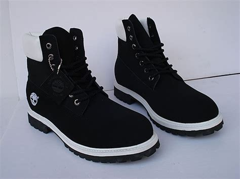 mens black and white timberland boots mens timberland black white 6 inch boot mes450521 92