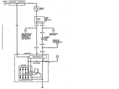 honda alternator wiring diagram rb25det alternator wiring