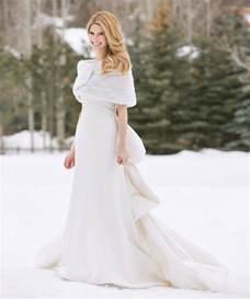 Garden Formal Attire - white winter wedding dress dresscab
