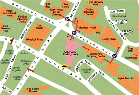 orchard mall map real estate fund manager orchard road singapore