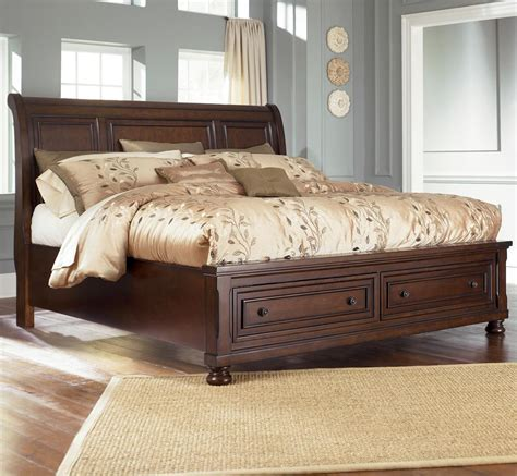 queen size bed furniture ashley furniture porter king storage bed queen size 699