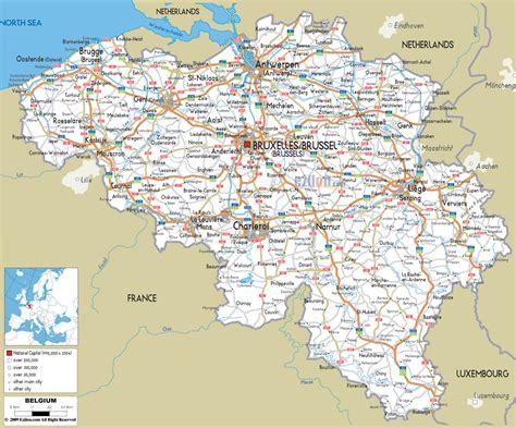 map of belgium airports maps of belgium detailed map of belgium in